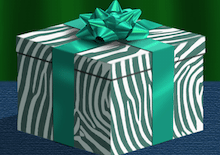 Image of a wrapped gift