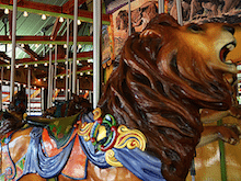 Image of the Africa carousel