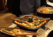 Image of a catered buffet