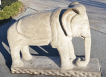 Image of an elephant statue