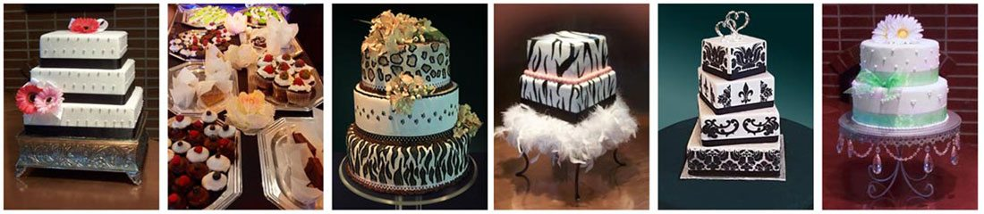 Image of various cakes