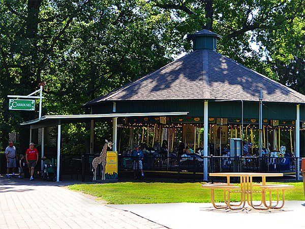 Image of the historic carousel