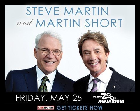 Live nation summer concerts the toledo zoo aquarium steve martin martin short mightylinksfo